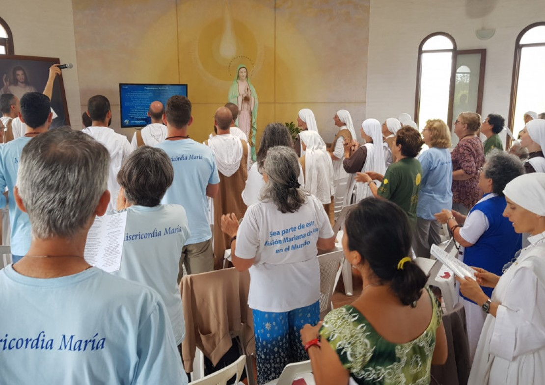Transmission of the Prayer for Peace in the Nations